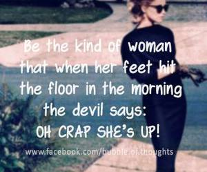 Devil, funny, and women image