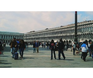 italy, piazza, and venice image