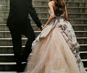 beautiful, bride, and girl image