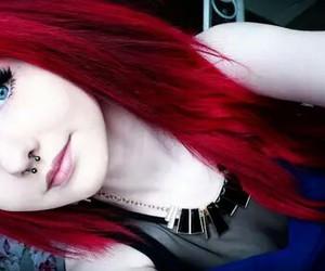 beauty, rad hair, and greeb eyes image
