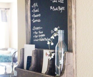 diy, chalkboard, and kitchen image