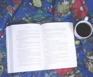 book, coffe, and photograph image