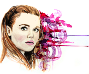 lydia martin, teen wolf, and holland roden image