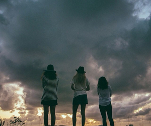 friends, girl, and cool image