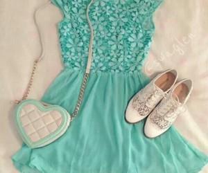 dress, fashion, and shoes image