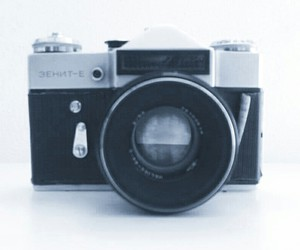 camera, object, and old image
