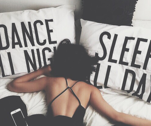 dance, sleep, and day image
