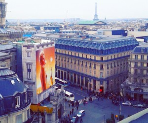 paris, galeries lafayette, and by coco image