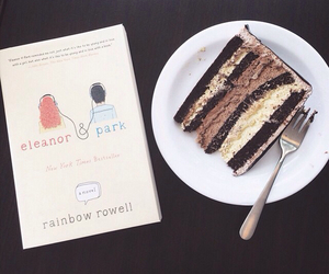 book and cake image