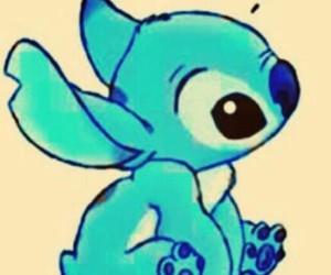 stitch, disney, and blue image