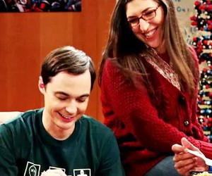 the big bang theory, couple, and sheldon image
