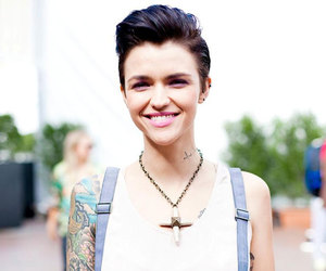 tattoo, ruby rose, and lesbian image