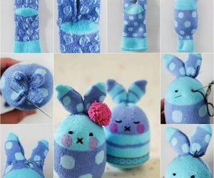 diy, bunny, and socks image