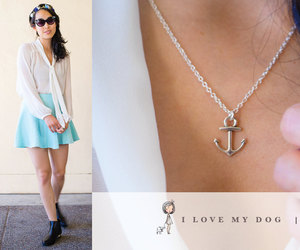 anchor, etsy, and jewelry image