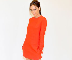 beautiful, orange, and victoria beckham image