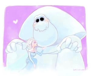 disney, frozen, and marshmallow image