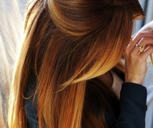 hair, hairstyle, and ombre image