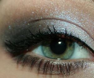 eye, eyeshadow, and eyes image