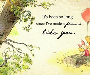 pooh, piglet, and quote image