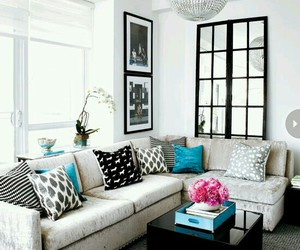 living room, home, and design image