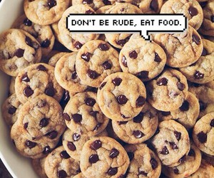 Cookies, food, and funny image