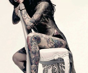 tattoo and kat von d image