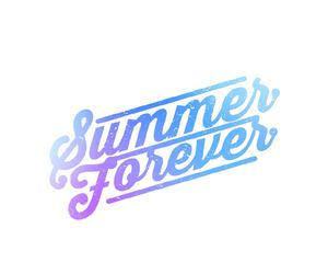 Logo, summer forever, and sumr4evr image