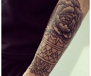 arm and flower image