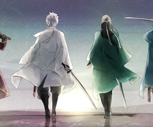 anime, art, and gintama image