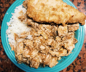 Chicken, food, and poulet image