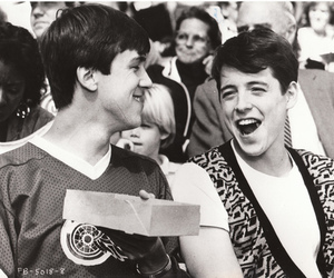 black and white, ferris bueller, and 80s image