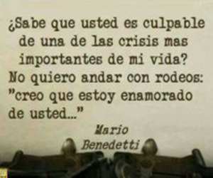 amor and mario benedetti image