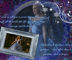 blue, cinderella, and princess image