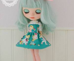 blythe, doll, and mint image