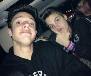 cameron dallas, matthew espinosa, and nash grier image