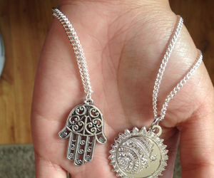 jewelry, mandala, and moon image