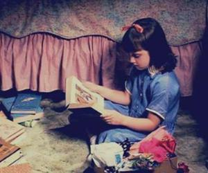 books, matilda, and film image