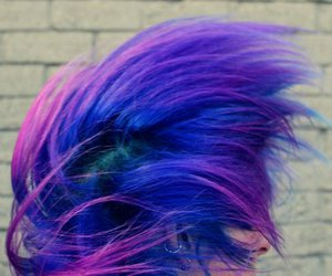 colored hair, fashion, and girls image