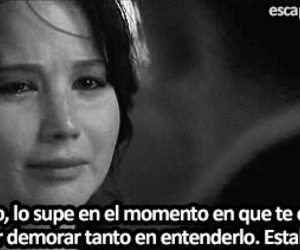 black and white, sad, and frases image