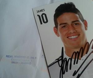 autograph, james rodriguez, and Dream image