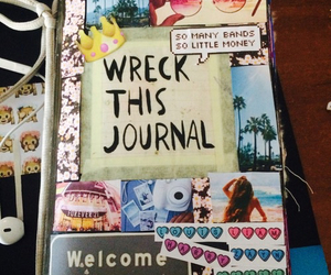 wreck this journal, cover, and WTJ image