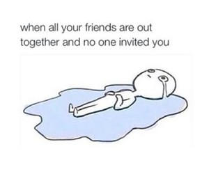 cry, sad, and friends image