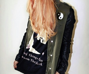fashion, grunge, and hair image