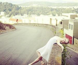 ballerina, dancer, and pointe image