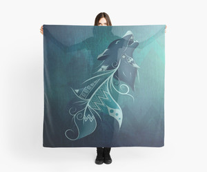 redbubble, scarf, and accessories image