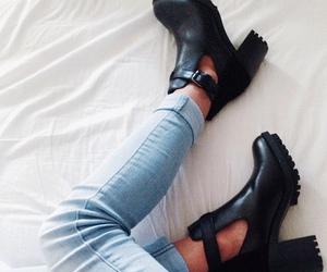 beauty, shoes, and fashion image