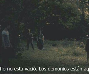 hell, demonios, and frases image