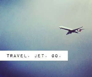 go, travel, and leave image