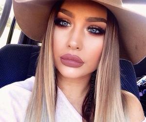 girl, makeup, and pretty girl image