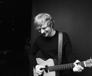 ed sheeran, ed, and guitar image